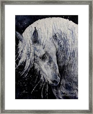 Moody Blues Framed Print by Hailey E Herrera