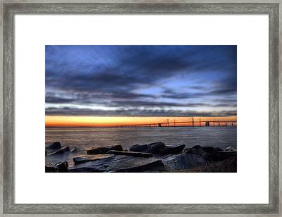 Moody Blues Framed Print by JC Findley