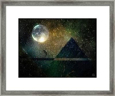 Moon Dance Framed Print by Gun Legler