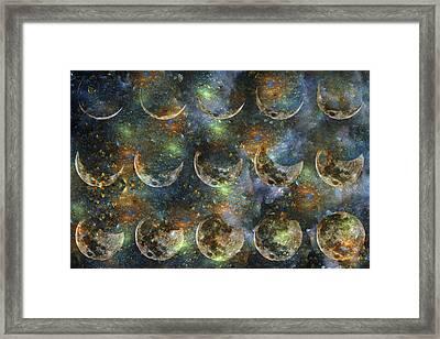 Moon Framed Print by Betsy Knapp