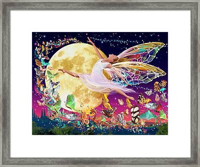 Moon Fairy Variant 1 Framed Print by Garry Walton
