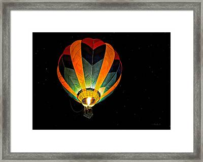 Moon Glow Framed Print by Bob Orsillo