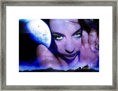 Moon Intoxication Framed Print by Heather King