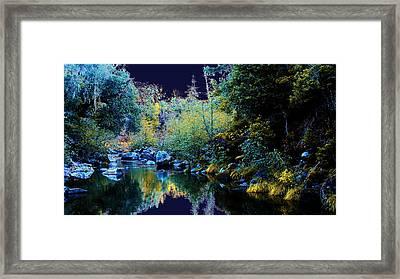 Moon Land Framed Print by David Walker