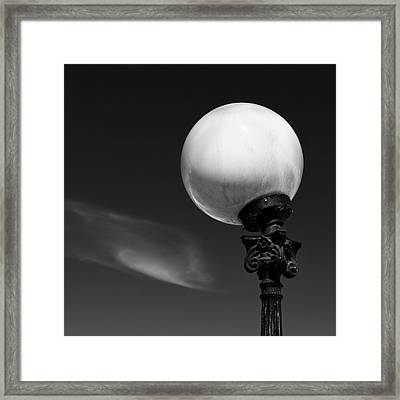 Moon Light Framed Print by Dave Bowman