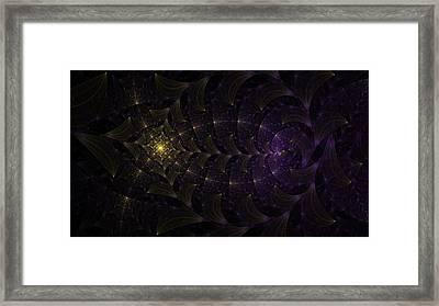 Moon Lit Path Framed Print by Jhoy E Meade
