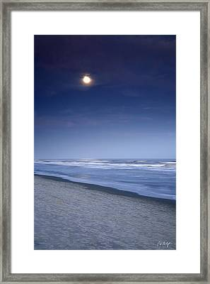 Moon Rising Over Hilton Head Framed Print by Phill Doherty