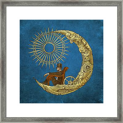 Moon Travel Framed Print by Eric Fan