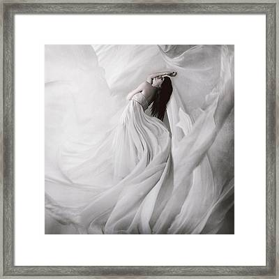Moondance Framed Print by Anja Matko