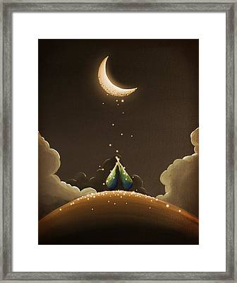 Moondust Framed Print by Cindy Thornton