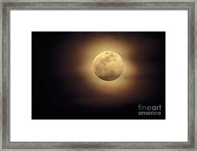 Moonglow Framed Print by Ron Sanford