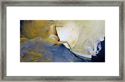 Moonlight And Shadow Framed Print by Dina Dargo