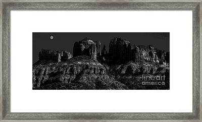 Moonlight Cathederal Framed Print by Jon Burch Photography