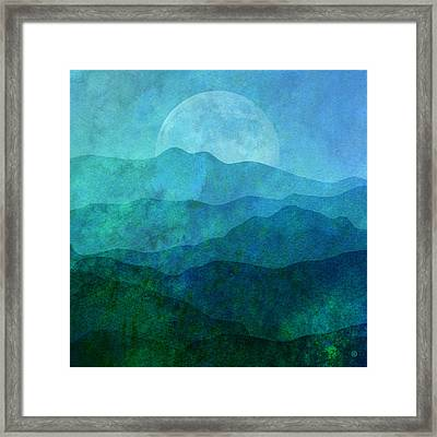 Moonlight Hills Framed Print by Gary Grayson