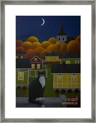 Moonlight Night Framed Print by Veikko Suikkanen