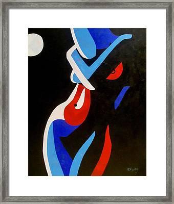 Moonlight Framed Print by Rute Santos