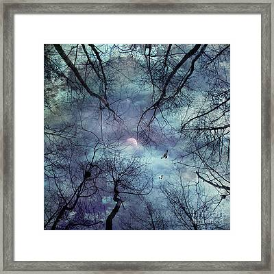 Moonlight Framed Print by Stelios Kleanthous