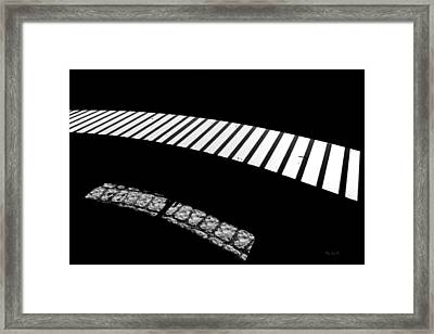 Moonlight Under The Highway Framed Print by Bob Orsillo
