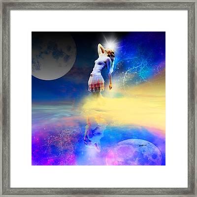Moonlightfantasy Framed Print by Anthony Caruso
