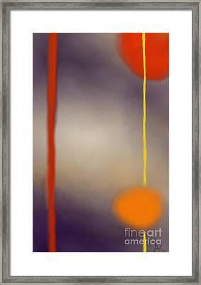 Moonlit Night II Framed Print by Anita Lewis