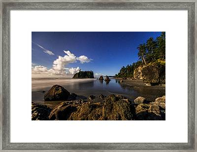 Moonlit Ruby Framed Print by Chad Dutson