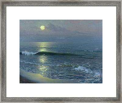 Moonrise Framed Print by Guillermo Gomez y Gil
