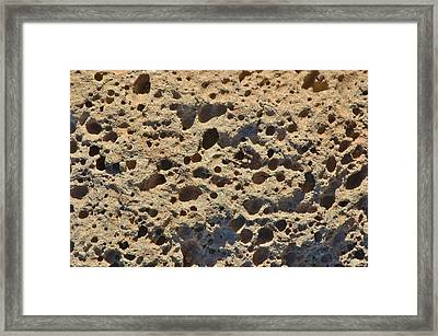 Moonscape Framed Print by Linda Brody