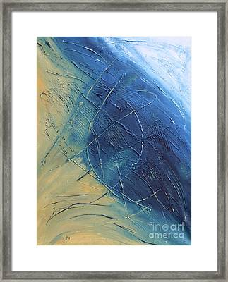 Moonscape V Framed Print by Christiane Schulze Art And Photography