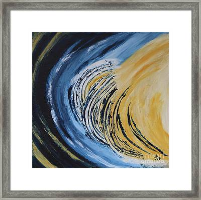 Moonscape Vii Framed Print by Christiane Schulze Art And Photography