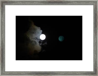 Moonshadow Framed Print by As You See  It