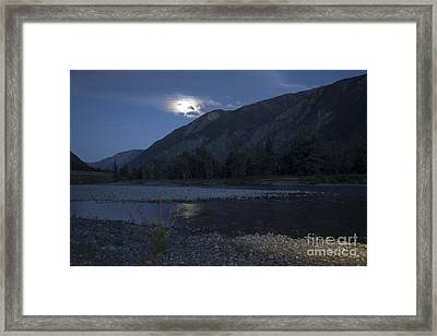 Moonshadow Framed Print by Graham Foulkes