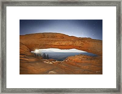 Moonshine - Craigbill.com - Open Edition Framed Print by Craig Bill