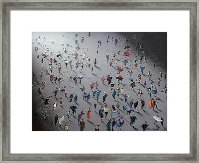 Moonwalk Framed Print by Neil McBride
