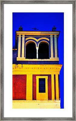 Moorish Seville Framed Print by Mary Machare