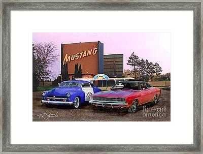Mopar Way  Framed Print by Tom Straub