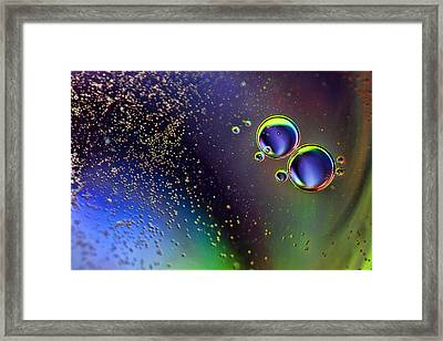More Bubbles Framed Print by EXparte SE