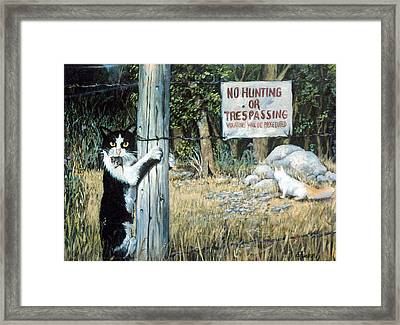 More Civil Disobedience Framed Print by Donna Tucker