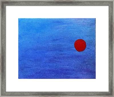 More Like A Dot Framed Print by Jennifer Fliegel