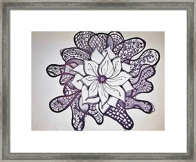 More Than A Flower Framed Print by Lori Thompson