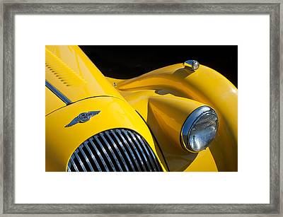 Morgan Plus 8 Front End -0154c Framed Print by Jill Reger