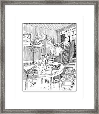 Morning After 2 Of 2 Framed Print by Jack Pumphrey