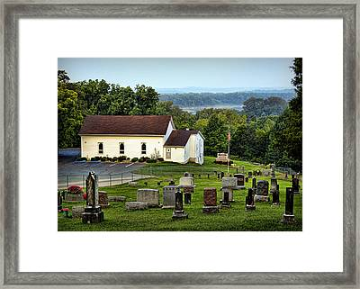 Morning At Goshen Framed Print by Cricket Hackmann