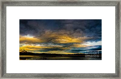 Morning Canvas Framed Print by Mitch Shindelbower