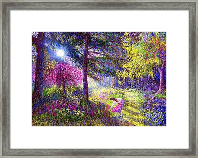 Morning Dew Framed Print by Jane Small