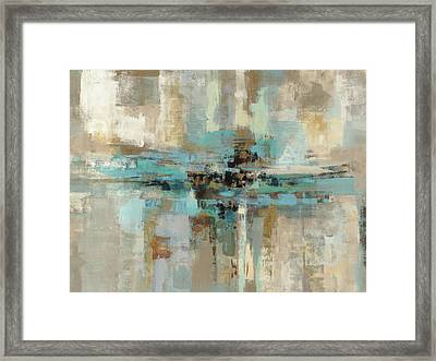 Morning Fjord Framed Print by Silvia Vassileva
