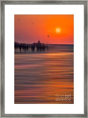 Morning Flight - A Tranquil Moments Landscape Framed Print by Dan Carmichael