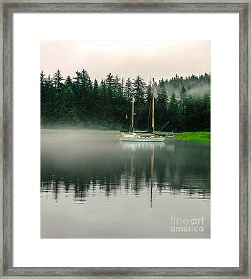Morning Fog Framed Print by Robert Bales