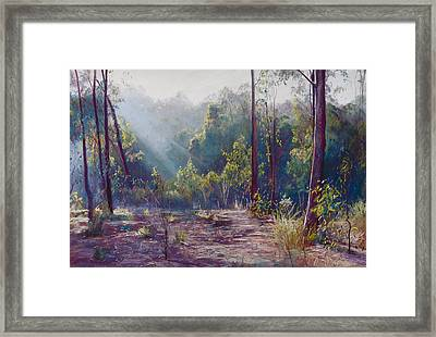 Morning Glory Framed Print by Lynda Robinson
