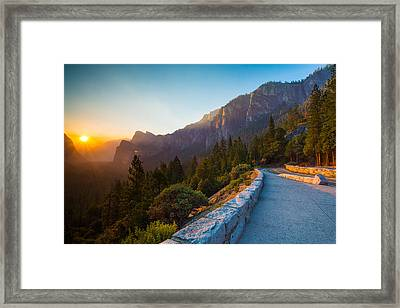 Morning Glow Framed Print by Mike Lee