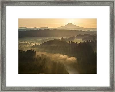 Morning Has Broken Framed Print by Lori Grimmett